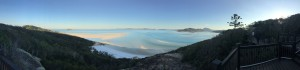 Had to climb a wee bit to get this view but my word the Whitsundays are amazing