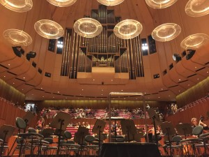 "I saw ""Beethoven Alive"" in the Sydney Opera House. I had a nasty bout of what is colloquially known as the shits, ironically during movement number 2."